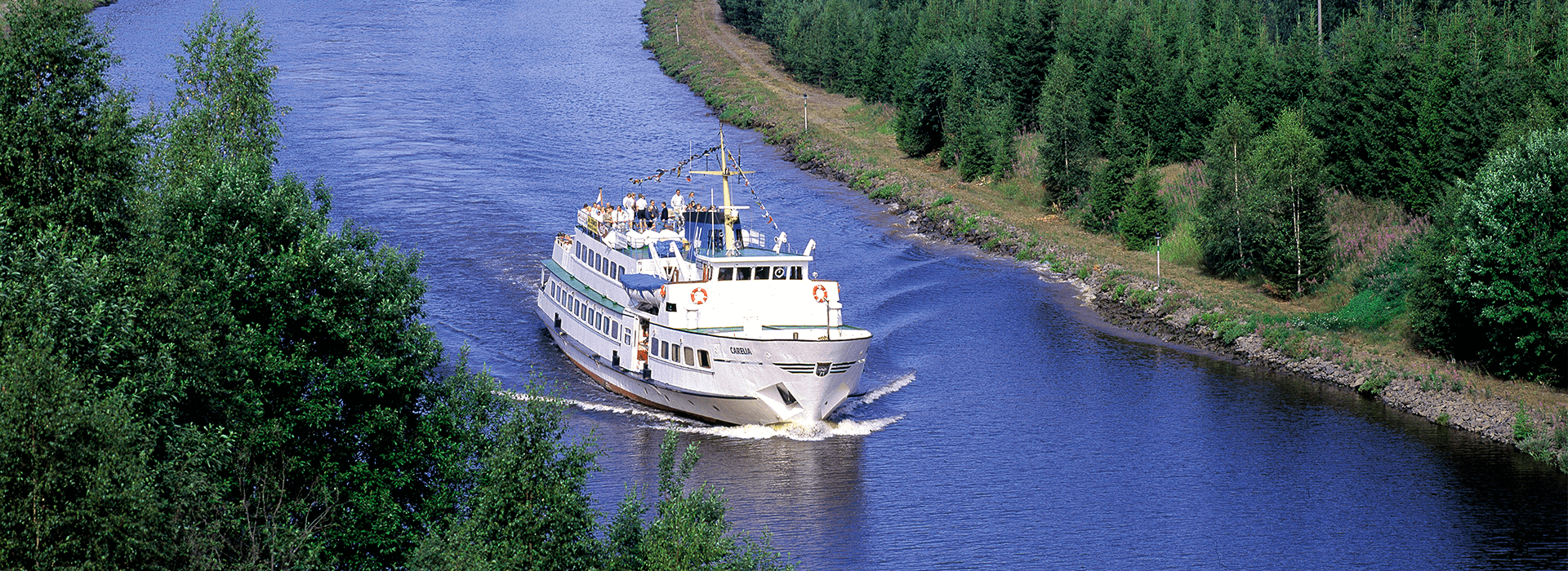 M/S Carelia, Saimaan kanava