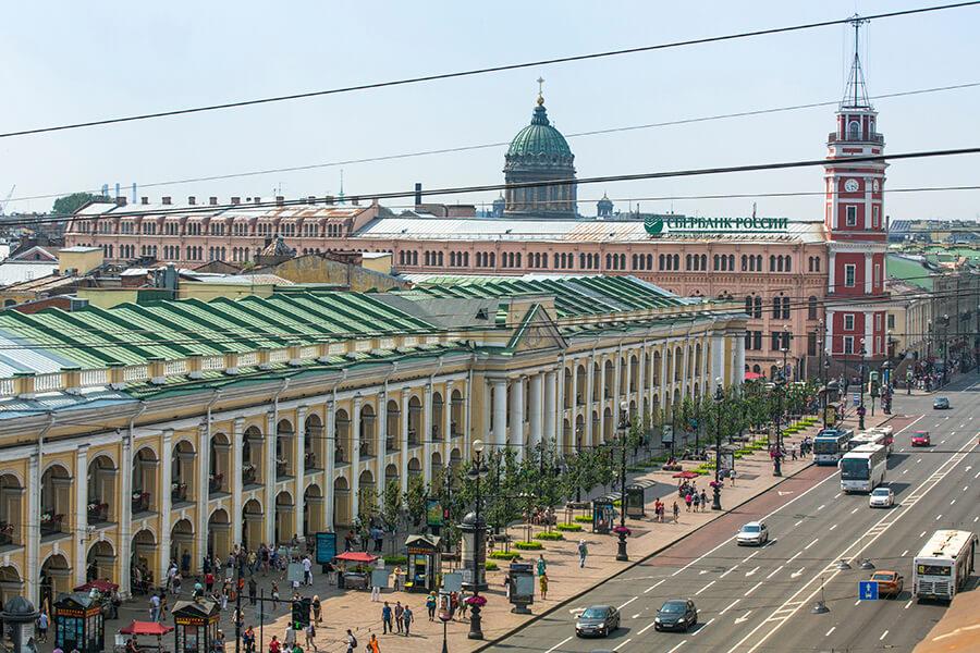 Ostoksille Pietariin