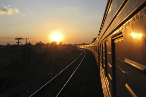 Junalla Moskovaan