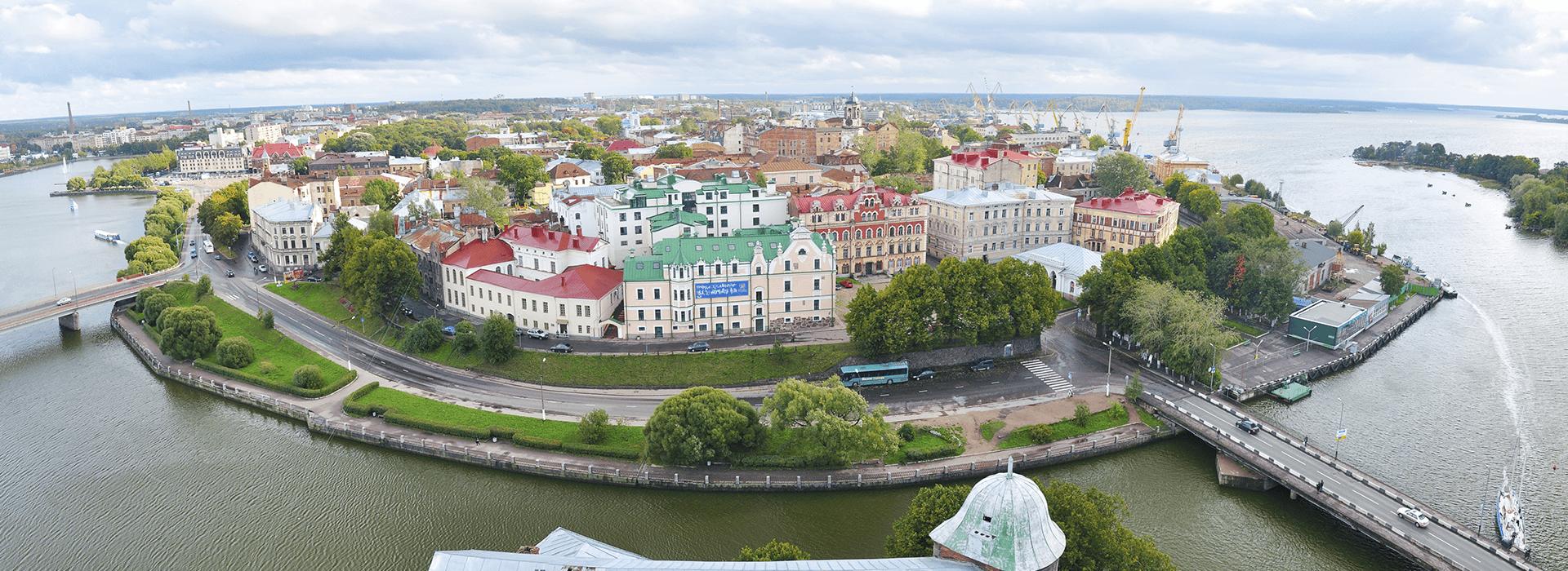 Viipurin keskusta (kuva: Saimaatravel.fi)