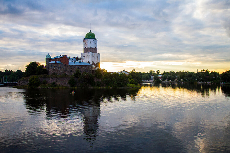 Visa-free cruise, 1 day in Vyborg