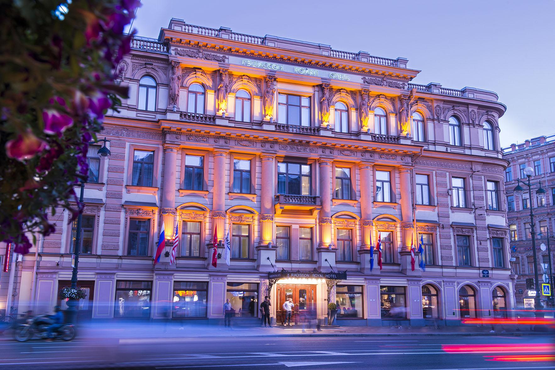 Hotelli Radisson Royal