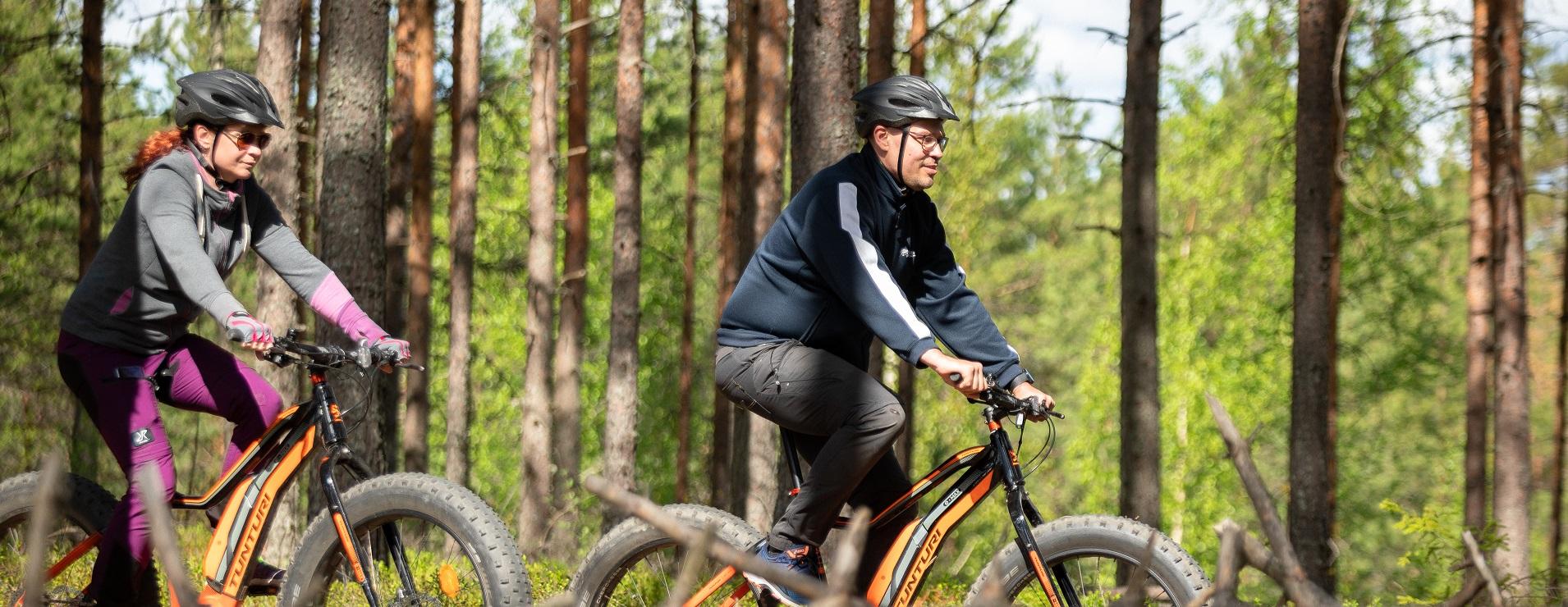fatbike pyöräilyä