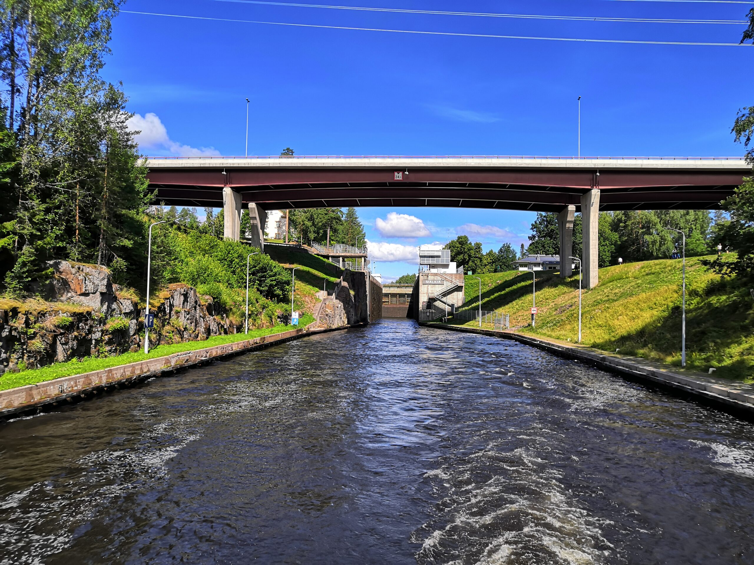 Risteily Saimaan kanavalle ja Venäjän rajalle