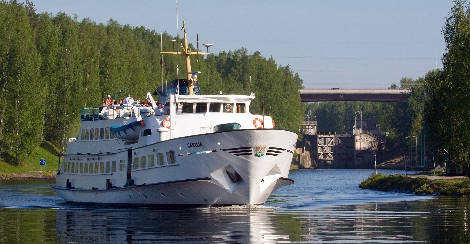 Day cruise to Saimaa Canal and Russian border