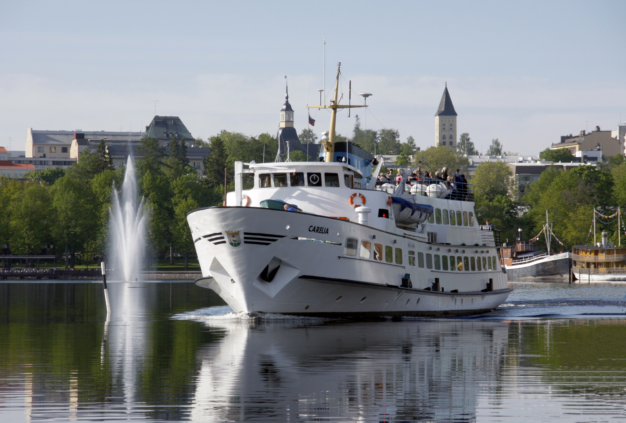 Cruises on Lake Saimaa, summer 2021